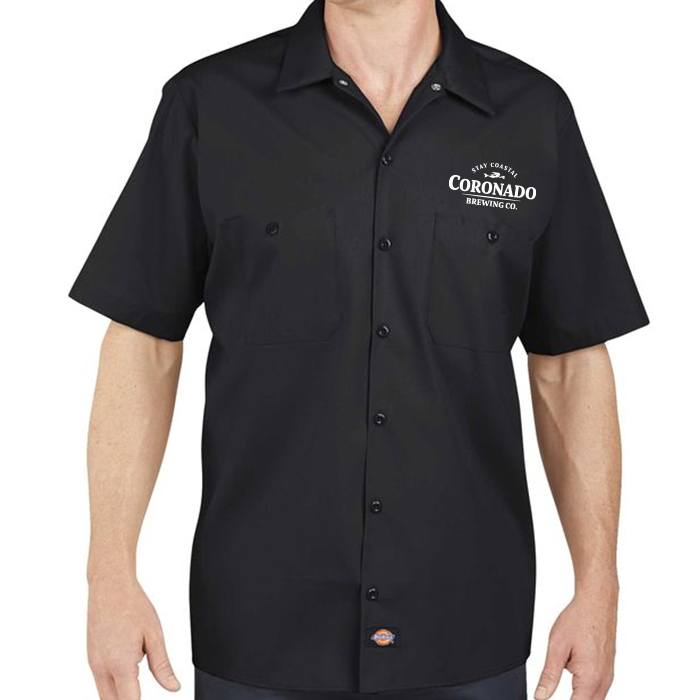 Dickies work shirt coronado brewing company for Dickey shirts clothing co